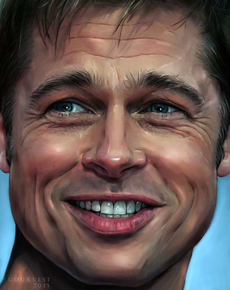 Brad Pitt by polyarny